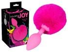 Korek analny Colorful Joy Bunny Tail 13 cm (2)