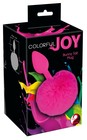 Korek analny Colorful Joy Bunny Tail 13 cm (3)