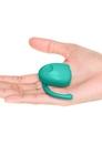 Wibrator - Dame Products EVA Hands-Free Vibrator Aqua Niebieski (3)