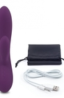 Wibrator ze stymulatorem - FeelzToys Lea Vibrator Purple (6)