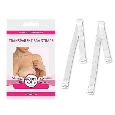 Bye Bra - Transparent Bra Straps Clear (1)