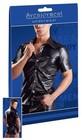 Koszulka - Fake Leather Męska Koszulka M (2)