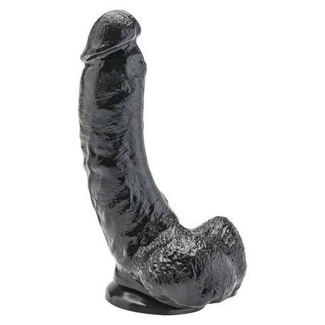 Dildo Get Real 8'', czarny (1)