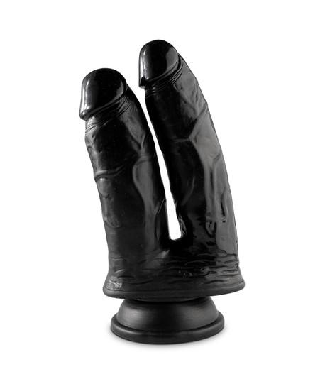 Dildo podwójne z przyssawką Double Cock 23cm Mr. Cock (1)