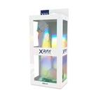 Dildo z przyssawką XRay 22 cm przezroczyste (6)