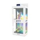 Dildo z przyssawką XRay 16,5 cm przezroczyste (6)